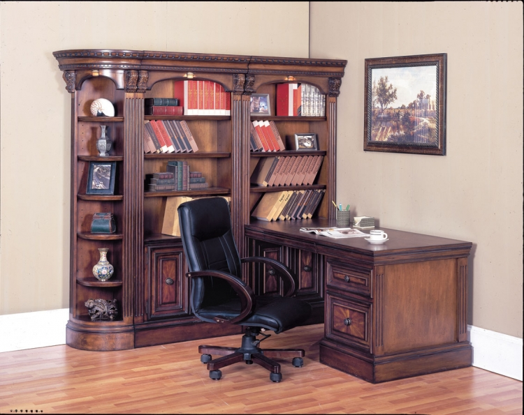 Huntington Corner Home Office-Parker House