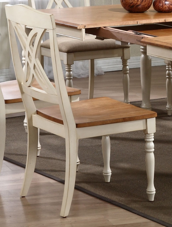 Butterfly Back Dining Chair - Caramel/Biscotti