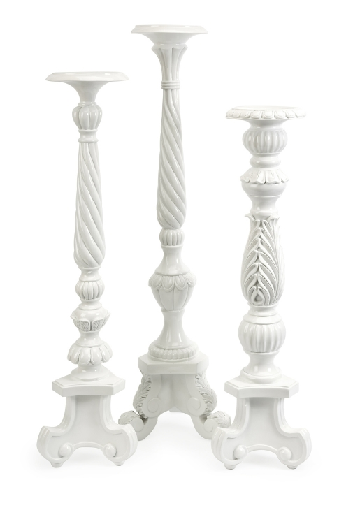 Stella Oversized Candle Holders - Set of 3