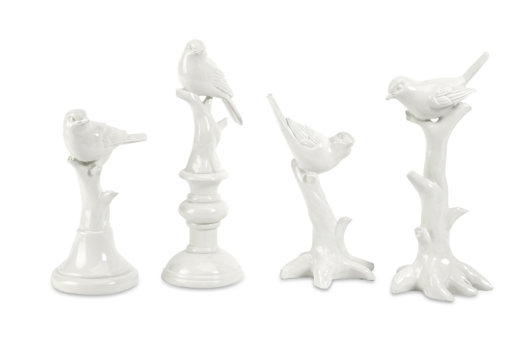 Ik Bird Statuary - Set of 4