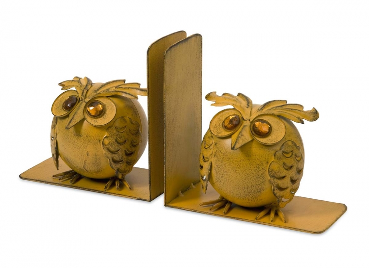 Viola Owl Bookends - Set of 2