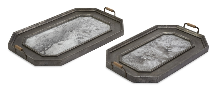 Victoria Vintage Trays - Set of 2 - IMAX
