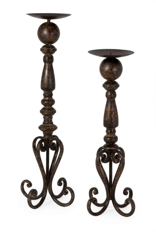 Darby Candlestands - Set of 2 - IMAX