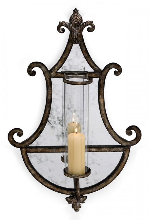 Carmichael Mirrored Wall Sconce