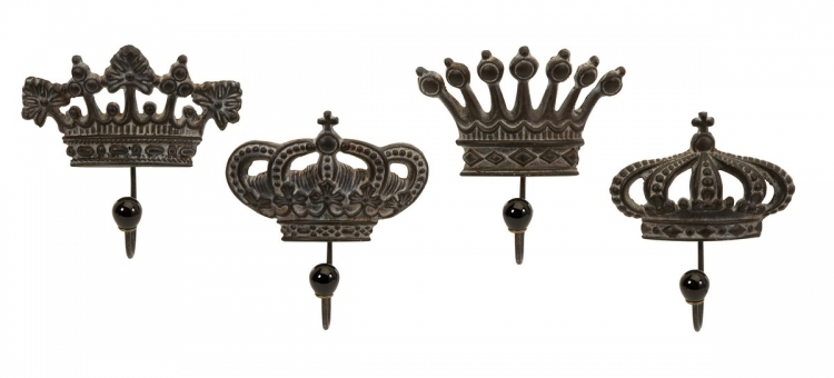 Regent's Crown Hooks - Set of 4 - IMAX