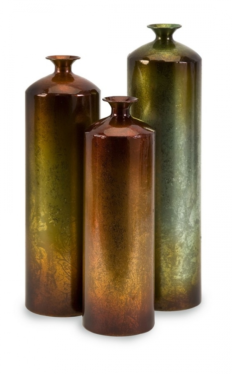 Tangerine Bottles - Set of 3 - IMAX