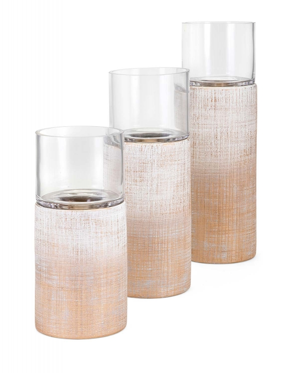 Arya Candleholders - Set of 3
