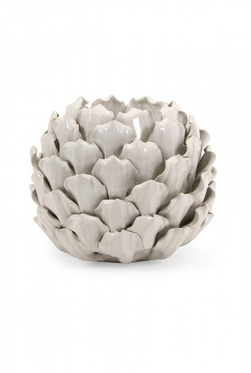 Tall Artichoke Candle Holder - IMAX