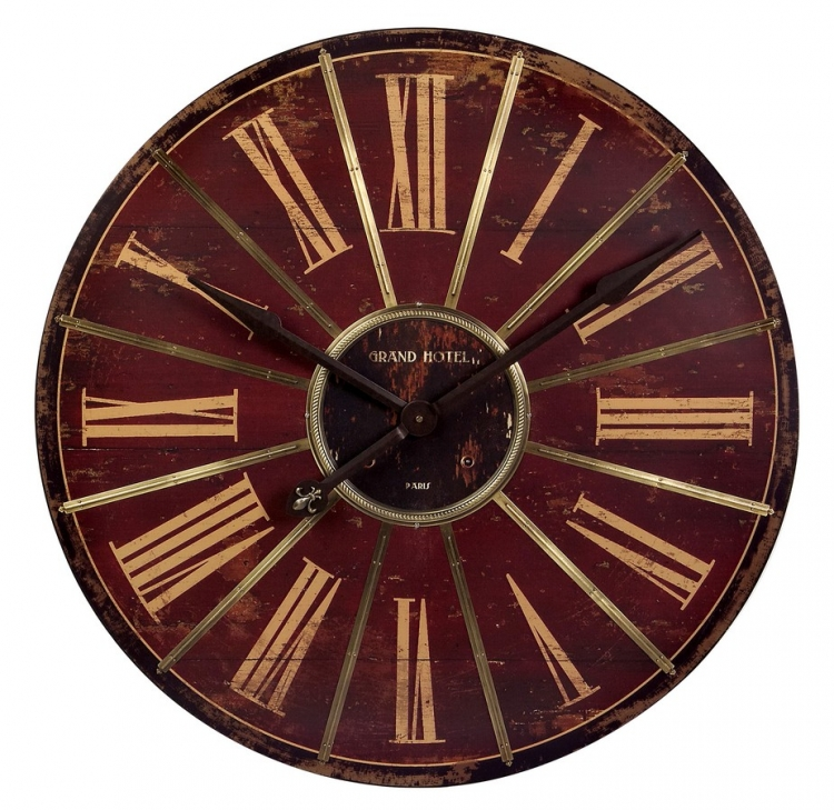 Large Red Wall Clock - IMAX
