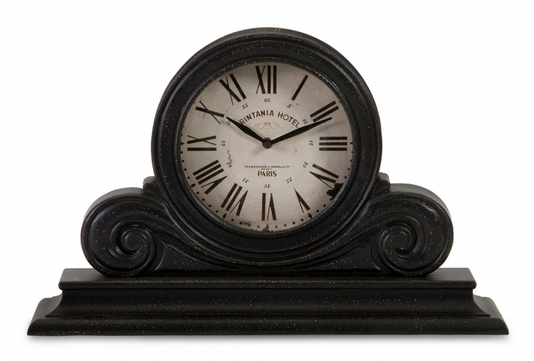 Black Mantle Clock - IMAX