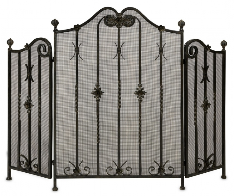 Iron Fireplace Screen - IMAX