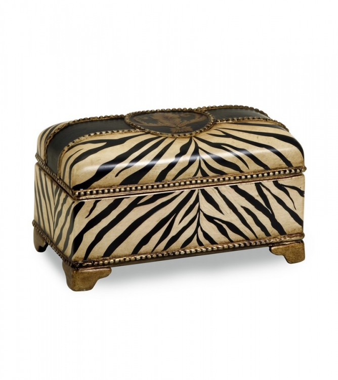 CK Zebra Ceramic Box