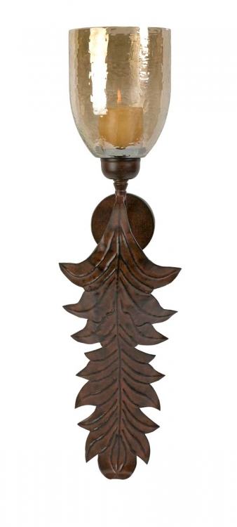 Lynch Leaf Sconce - IMAX