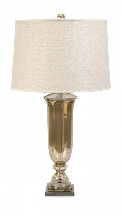 Patton Glass Urn Lamp - IMAX