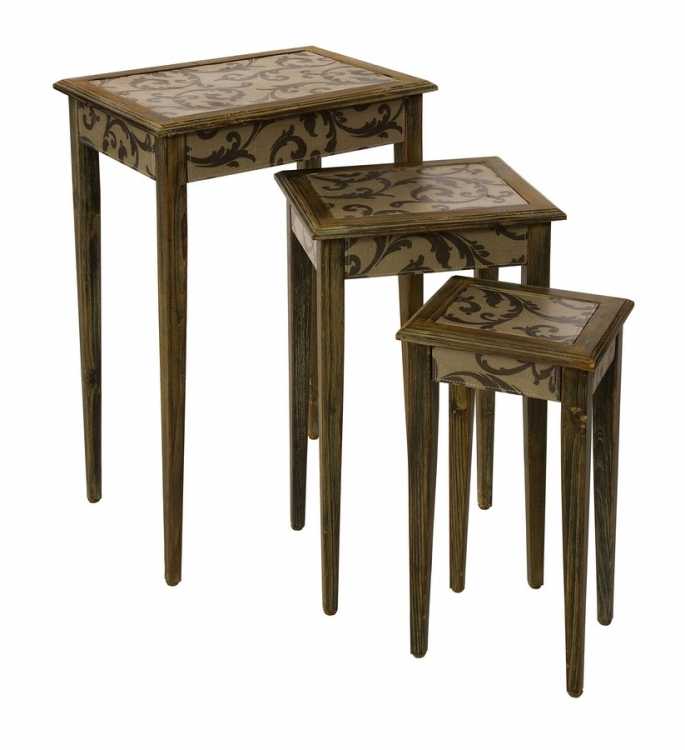 Waverly Nesting Tables - Set of 3 - IMAX