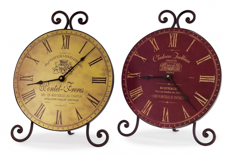 Chateau Table Clocks - Set of 2 - IMAX