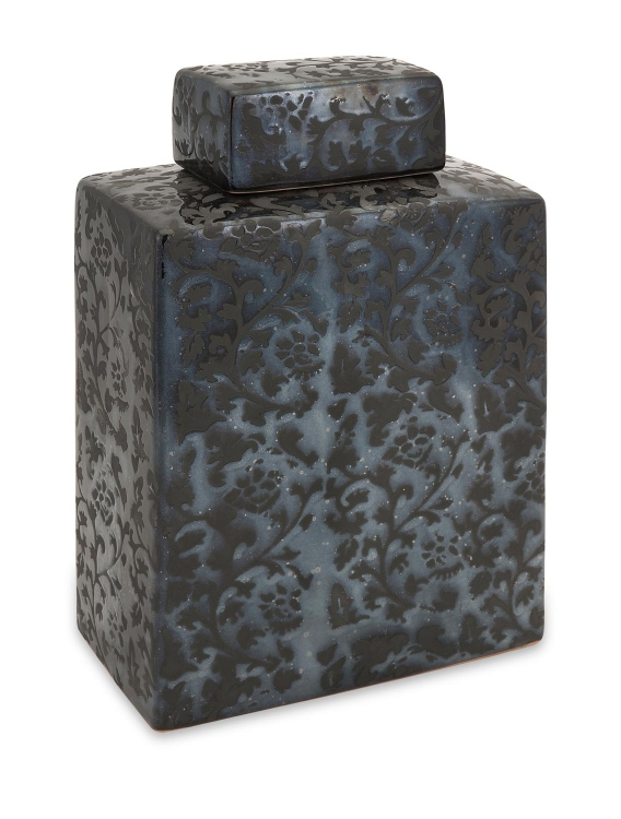 Moran Midnight Rectangular Canister - Large