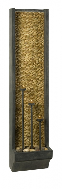 CKI Atropolis Wall Fountain with Tealight Holders - IMAX