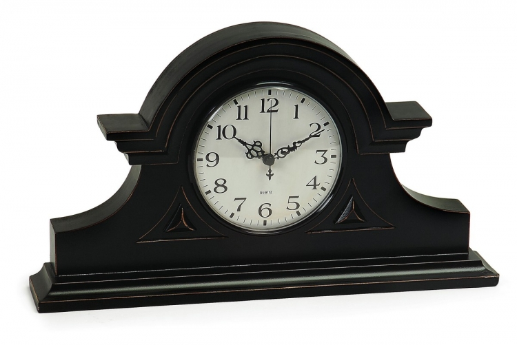 Black Mantel Clock - IMAX