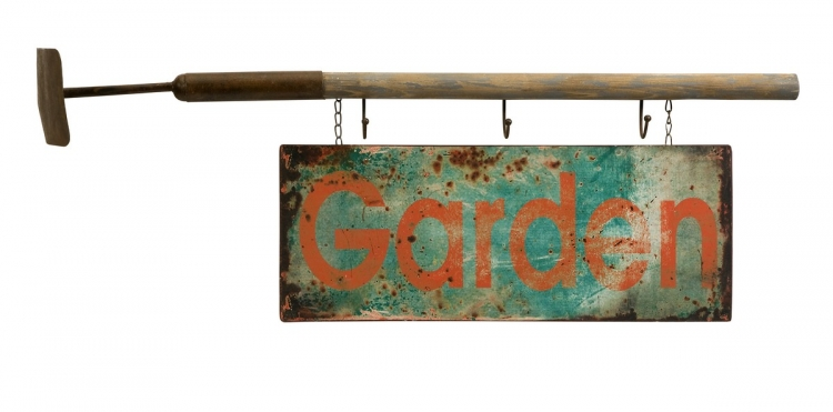 Elenore Garden Wall Decor with Hooks - IMAX
