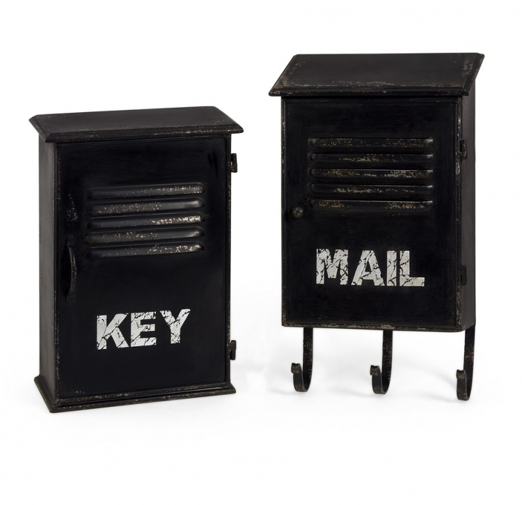 Alastor Key and Mail Boxes - Set of 2