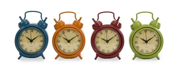 Corblin Desk Clocks - Set of 4