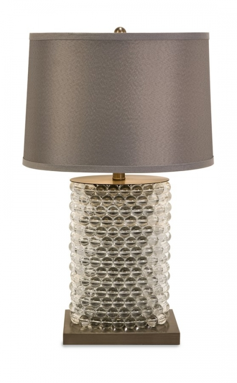 Nova Oval Beaded Lamp - IMAX