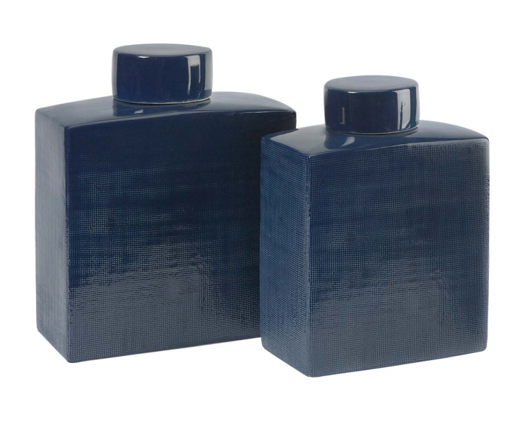 Wilfred Ceramic Canisters - Set of 2