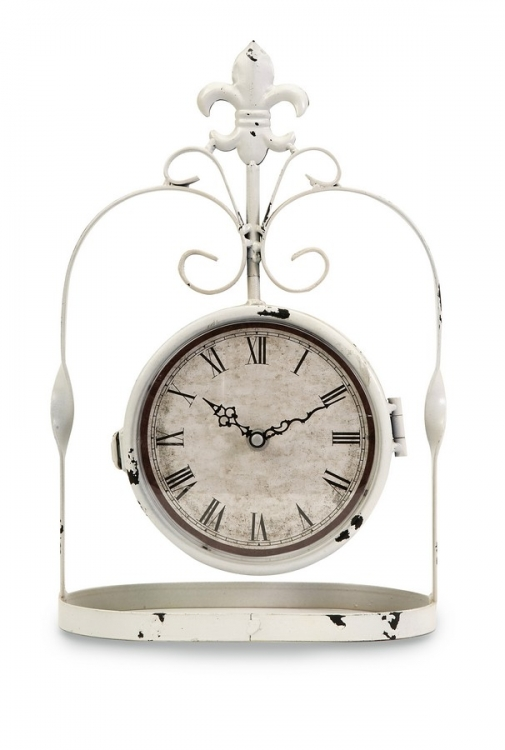 Trinity Double Sided Hanging Clock - IMAX
