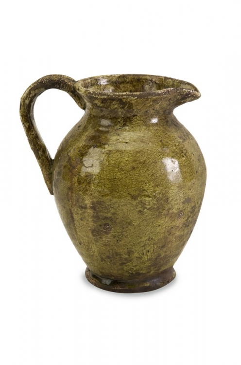 Small Adina Ceramic Pitcher - IMAX