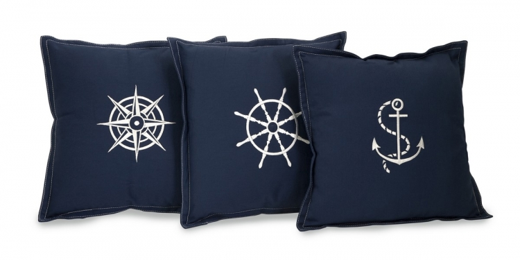 Admiral Pillows- Set of 3 - IMAX