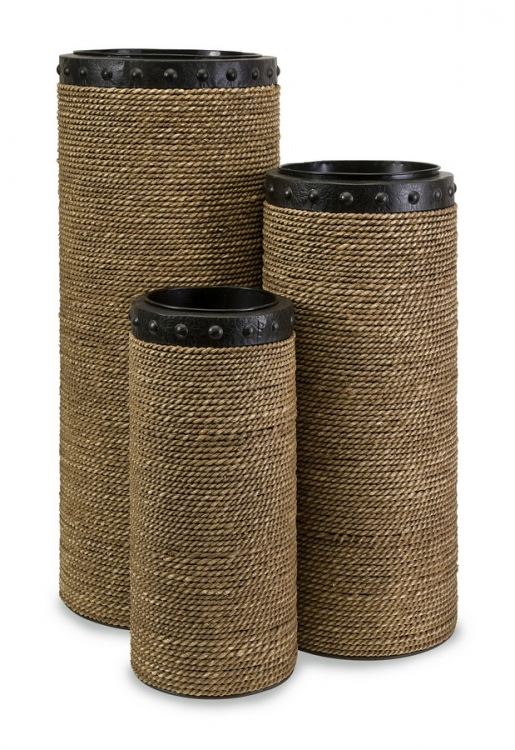 CKI Brunnel Planters - Set of 3 - IMAX