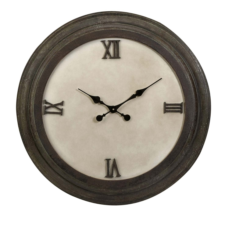 Cki Bestige Wood Wall Clock - IMAX
