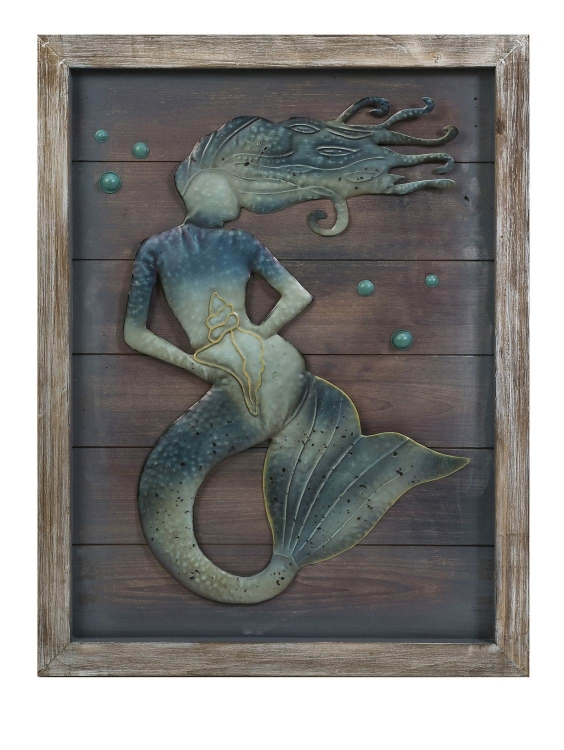 Maidas Mermaid Wall Decor - IMAX