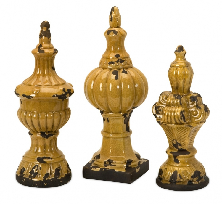 Canary Finials - Set of 3 - IMAX