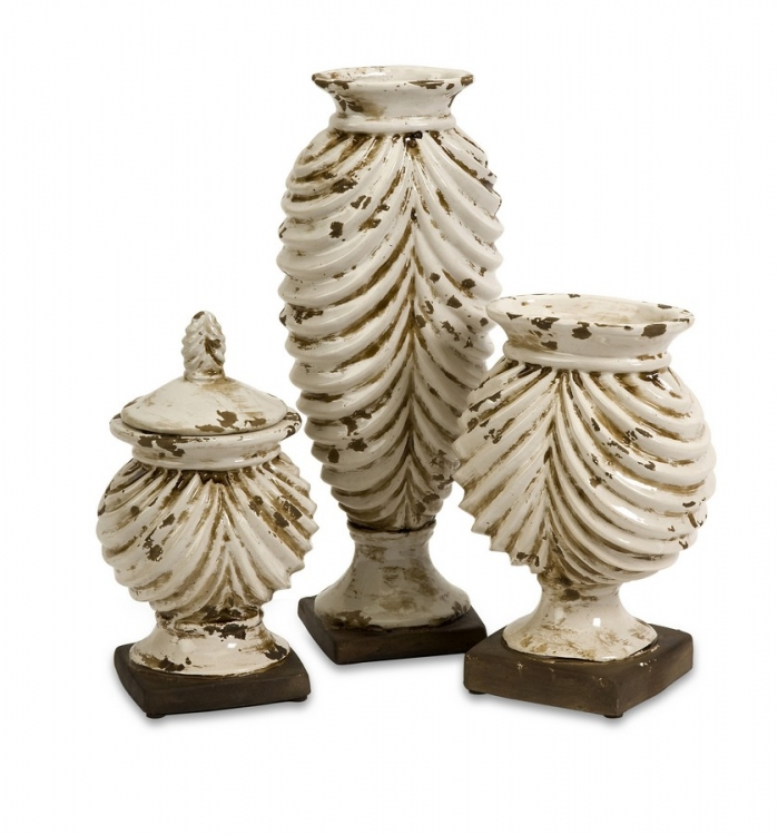Walsh Vases and Lidded Box - Set of 3 - IMAX