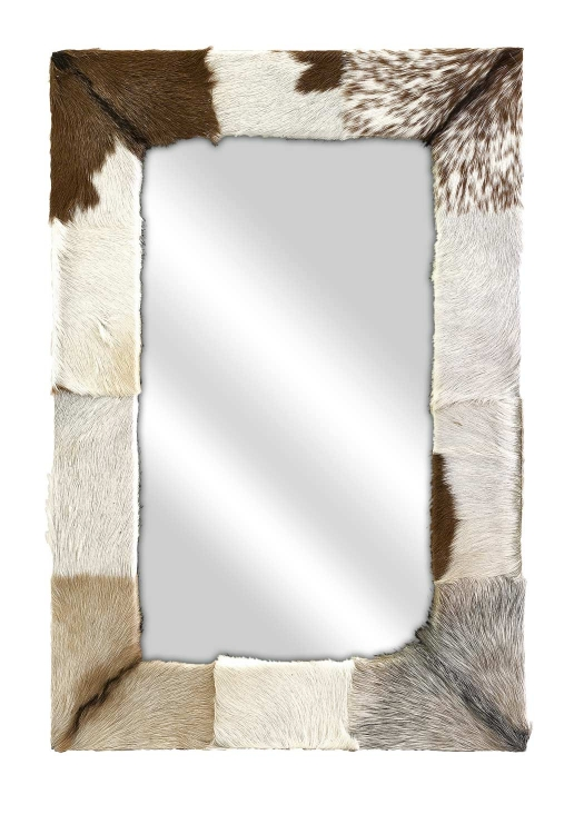 Pacino Animal Hide Wall Mirror