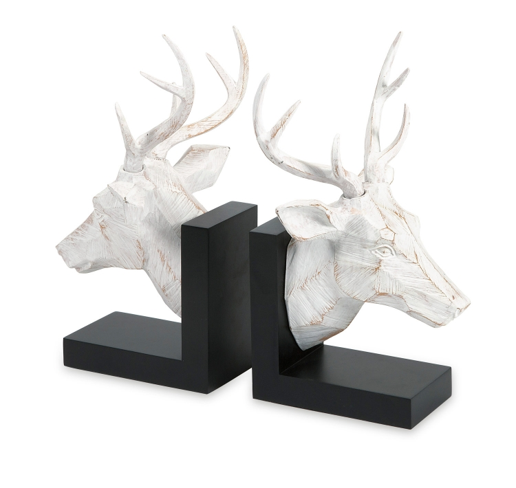 Joseph Deer Bookends - Set of 2