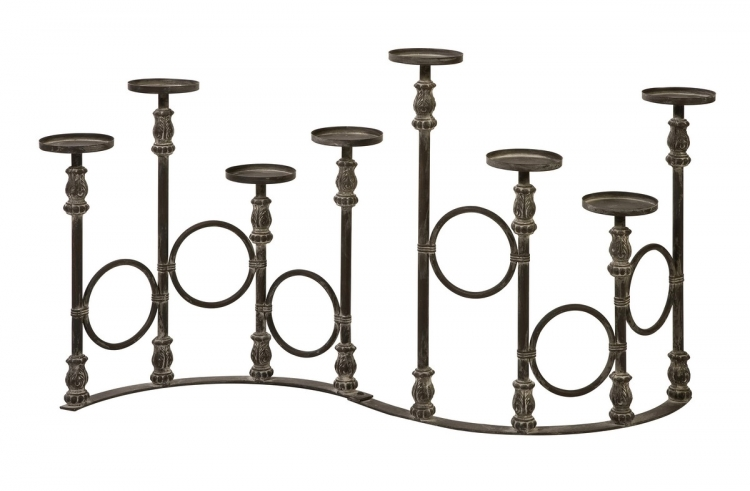 Lefroy Eight Pillar Candle Stand