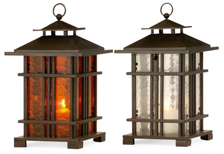 Arts and Crafts Lanterns - Set of 2 - IMAX