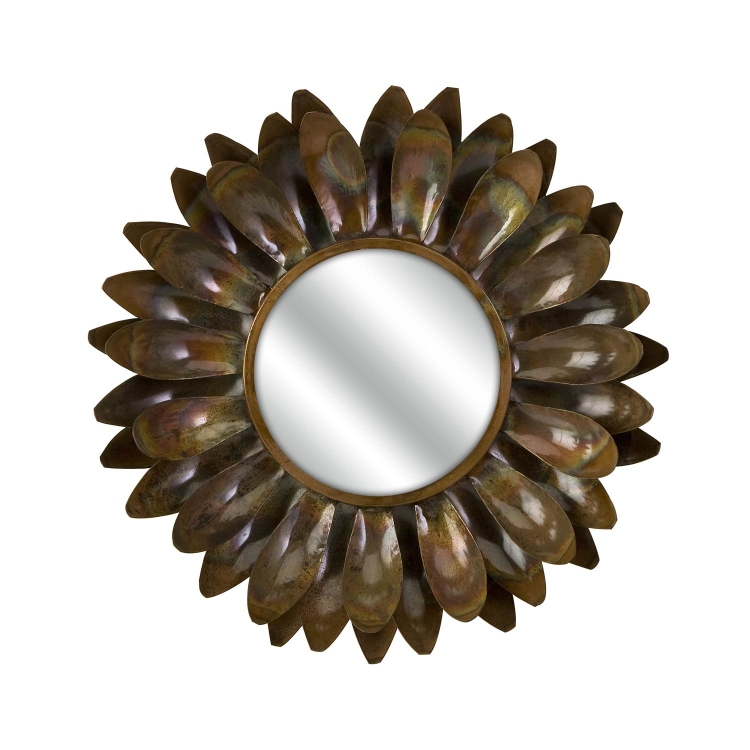 Carrow Medium Flower Mirror