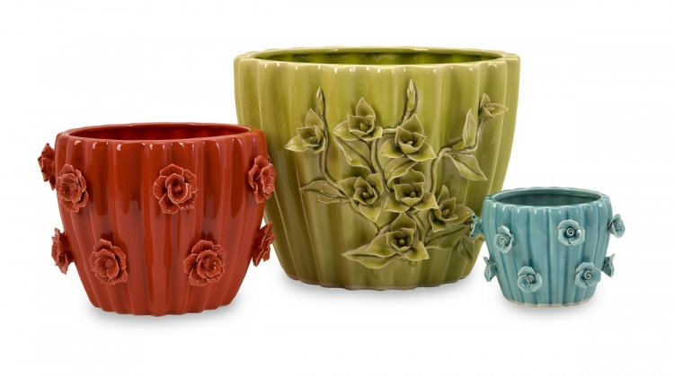 Eden Planters - Set of 3 - IMAX