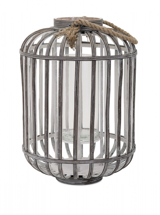Jate Wood Lantern - Large