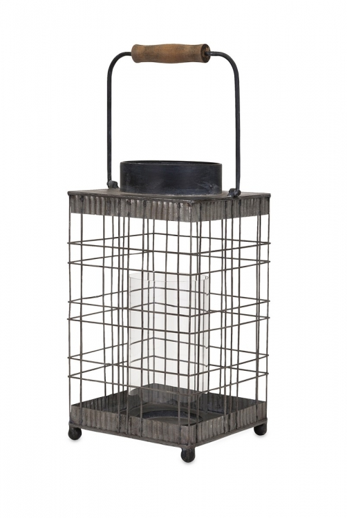 Pitzer Wire Lantern - Small
