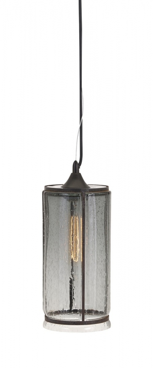 Imogen Large Smoke Pendant Light