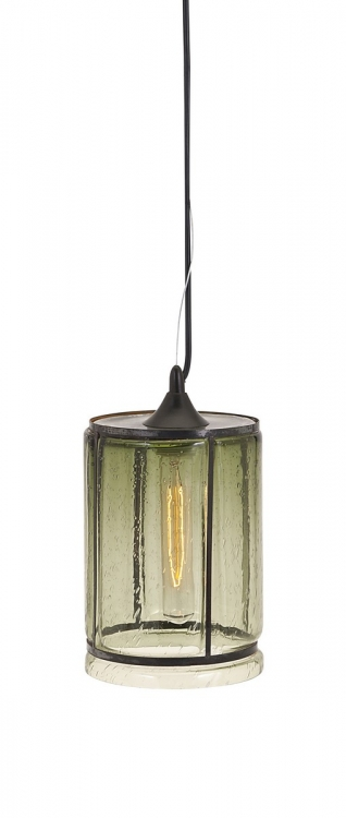 Imogen Small Green Pendant Light