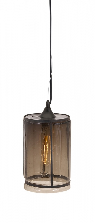 Imogen Small Brown Pendant Light