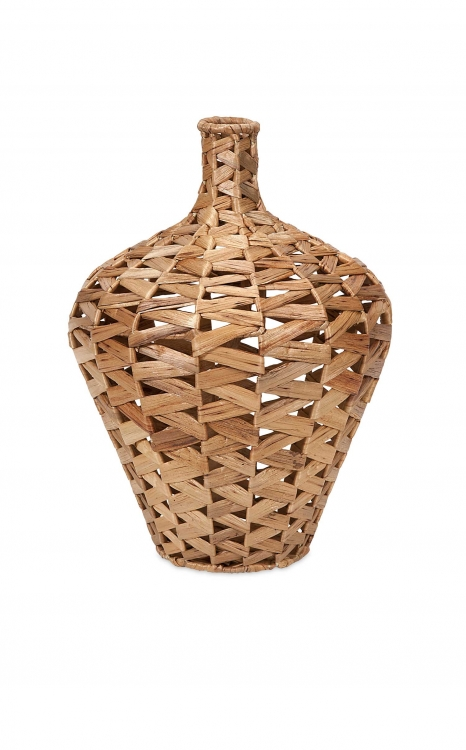 Lelei Small Woven Water Hyacinth Vase
