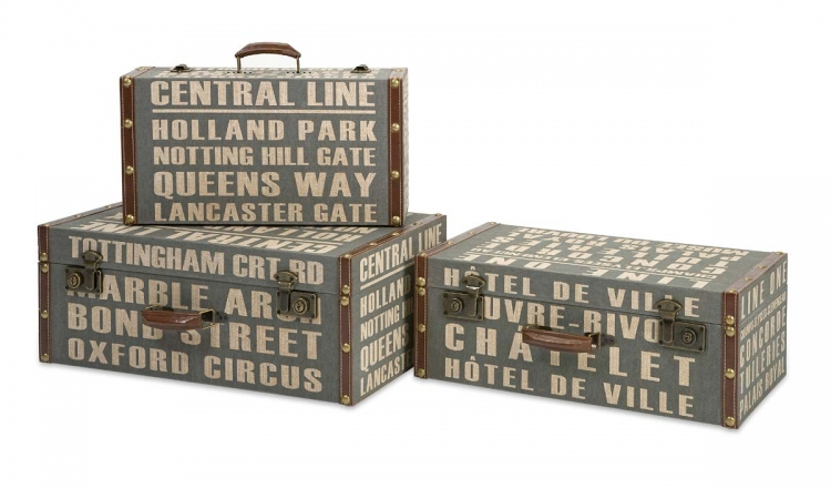 Central Line Suitcases - Set of 3 - IMAX
