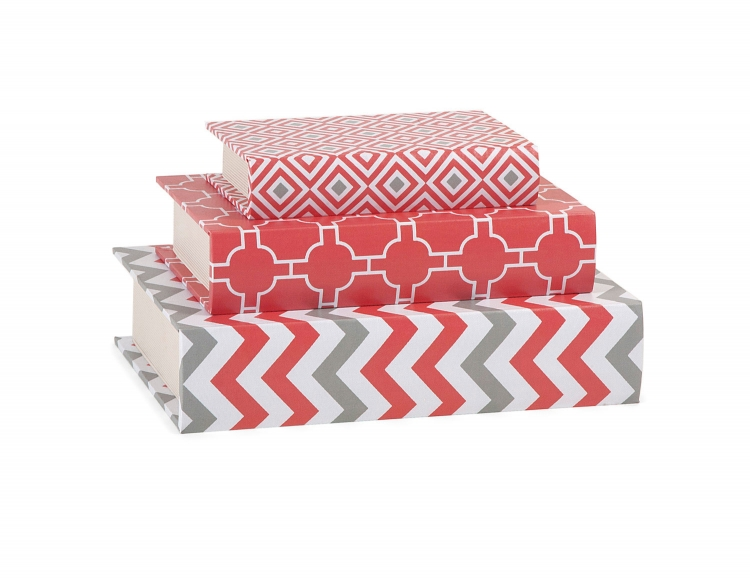 Essentials Book Boxes - Coral